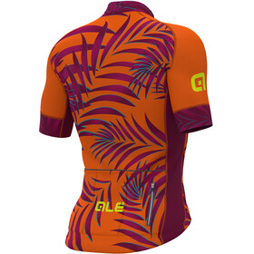 Alé Cycling Graphics PRR Sunset SS Jersey Men flou orange-plum